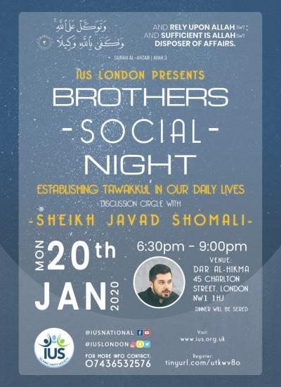 Brothers Social Night – London