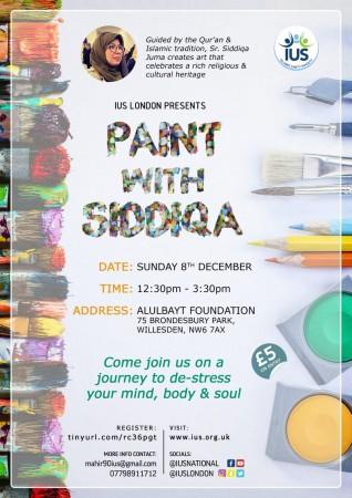 Paint With Siddiqa – London