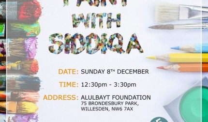 Paint With Siddiqa – London