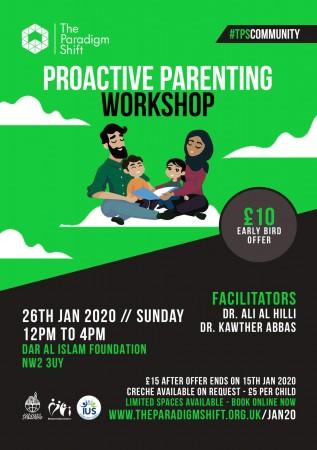 Proactive Parenting Workshop