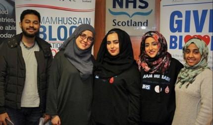 1000 donations- IHBDC in Scotland