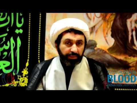 Sheikh Shomali on the Importance of Donating Blood