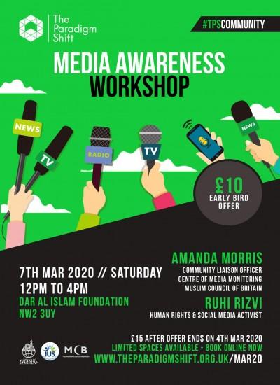 Media Awareness Workshop (London)