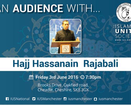 An Audience with Hajj Hassanain Rajabali