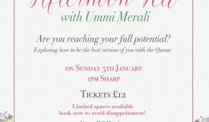 [SOLD OUT] IUS Manchester Ladies Afternoon Tea Manchester, Are your reaching your full potential?