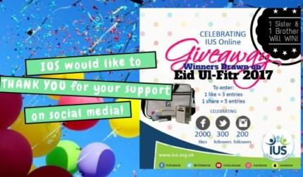 Eid Ul-Fitr Giveaway!!! (CLOSED)