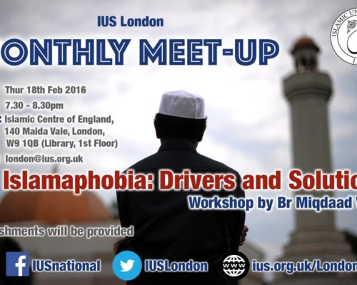 London Monthly Meet-Up – 2016